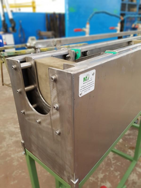 Vasca inox regolabile raffreddamento cavo | Dettaglio 4