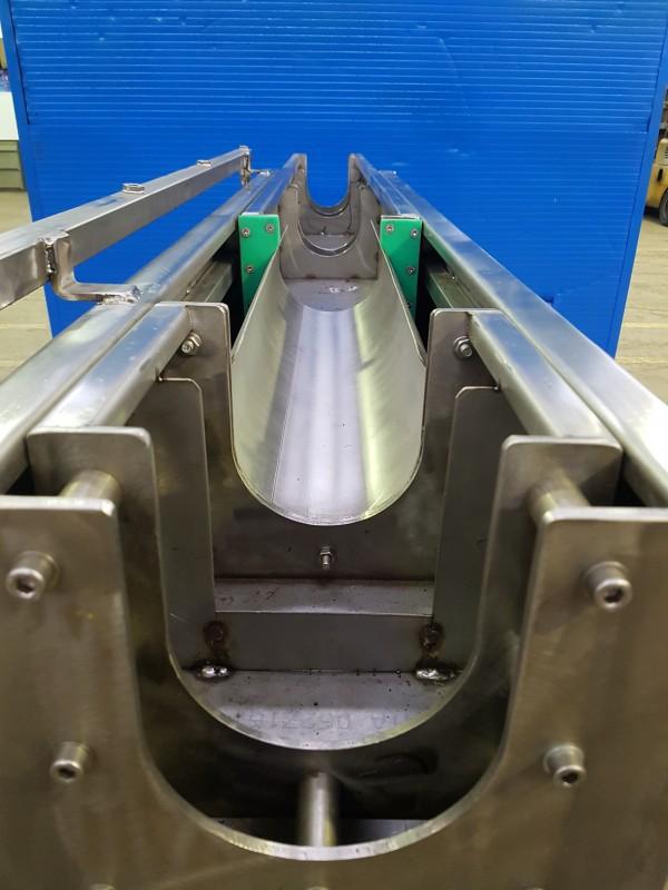 Vasca inox regolabile raffreddamento cavo | Dettaglio 6