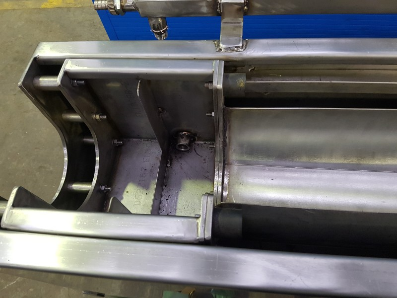 Vasca inox regolabile raffreddamento cavo | Dettaglio 3