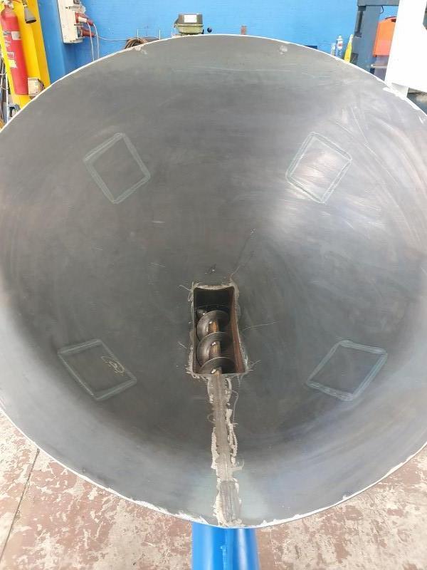 Coclea inclinata 6 mt con porta saccone BIG BAG | Dettaglio 6