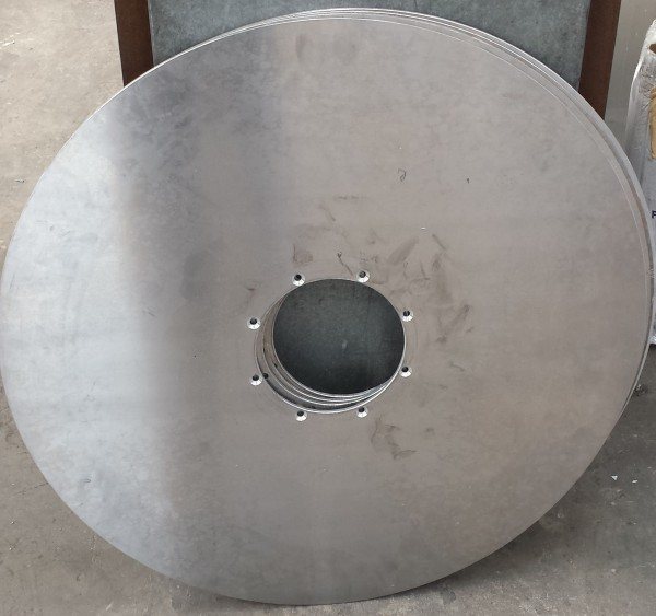 Disco in alluminio   Dettaglio 1