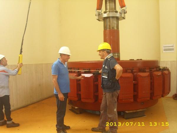 Controlli carroponte per turbina | Dettaglio 6