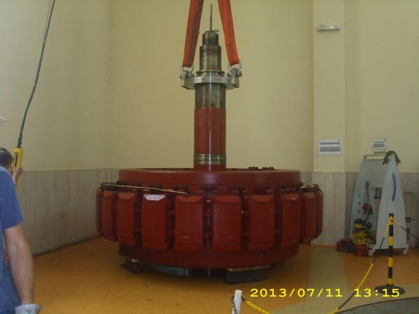 Controlli carroponte per turbina | Dettaglio 5