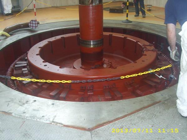 Controlli carroponte per turbina | Dettaglio 2