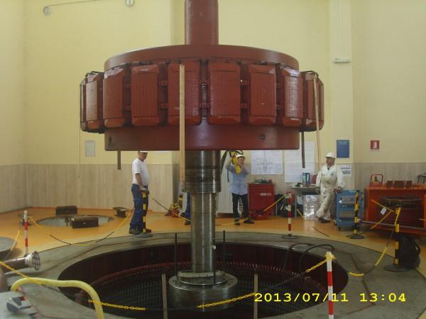 Controlli carroponte per turbina | Dettaglio 3