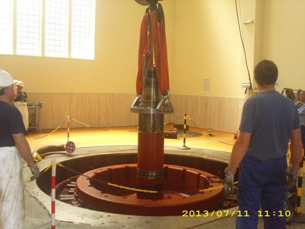 Controlli carroponte per turbina | Dettaglio 1