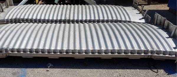 Muffola per forno, pressopiegata e saldata in acciaio AISI 310   Dettaglio 4