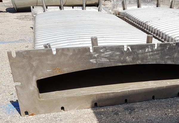 Muffola per forno, pressopiegata e saldata in acciaio AISI 310   Dettaglio 5