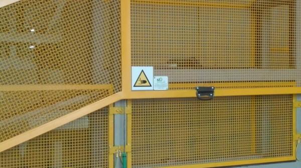 Installazione protezioni con paranco elettrico | Dettaglio 8