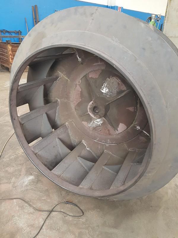 Ripristino girante ventilatore /Ripristino girante ventilatore  | Dettaglio 8
