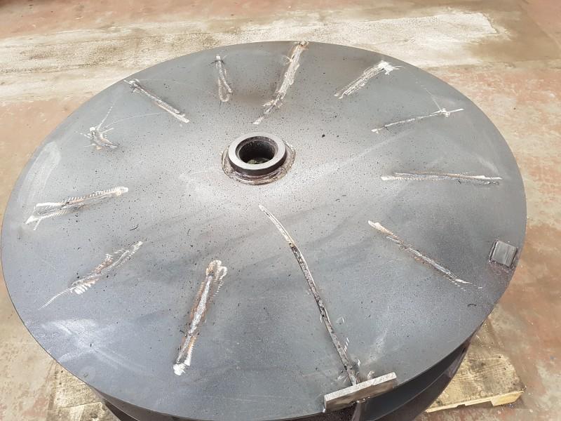 Ripristino girante ventilatore /Ripristino girante ventilatore  | Dettaglio 2