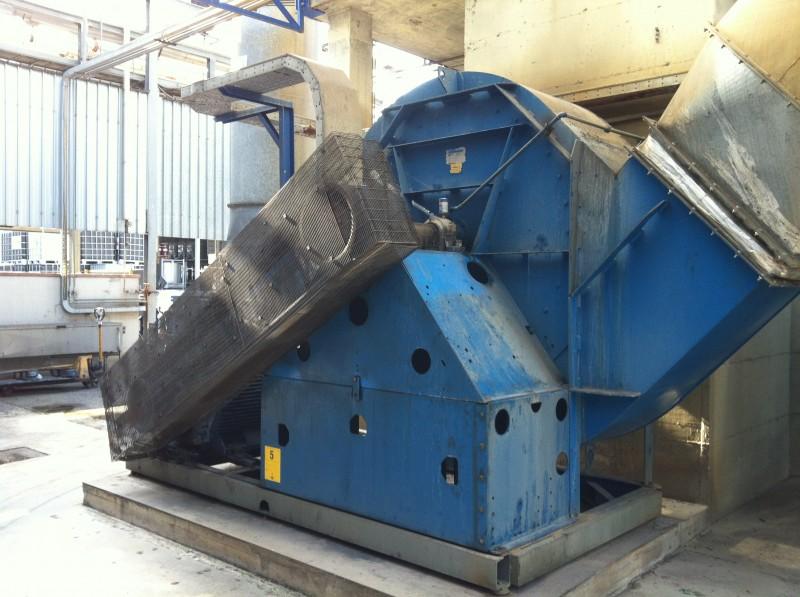 Ventilatore impianto | Dettaglio 1