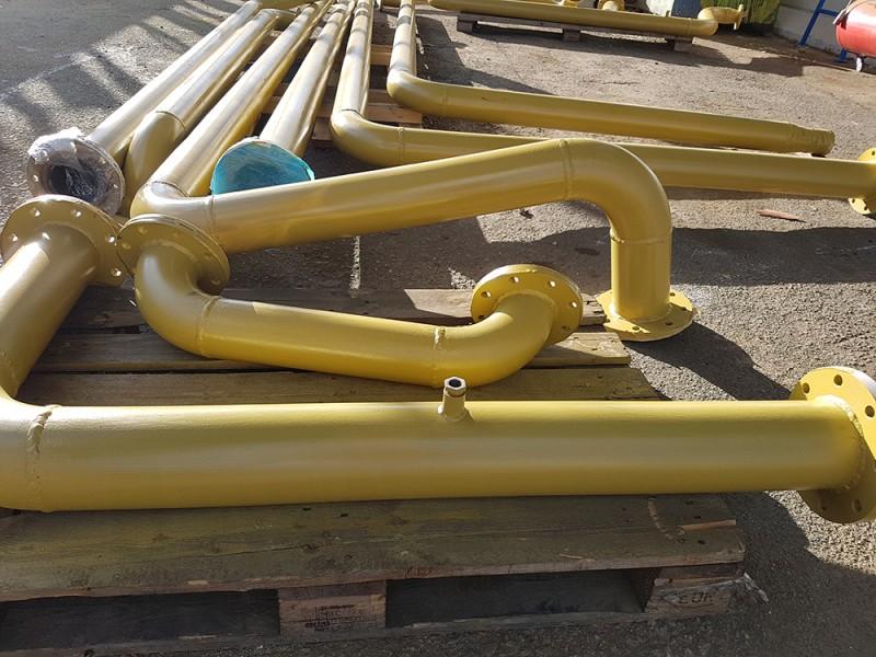 Tubazionie emulsione schedulo 40 Dn 125 | Dettaglio 4