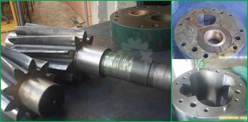 meccanica industriale caserta Manutenzione Meccanica saldature certificazioni iso Lavorazione di tornio e fresa Equilibratura Dinamica Carpenteria Metallica  Piping Equilibratura Girante