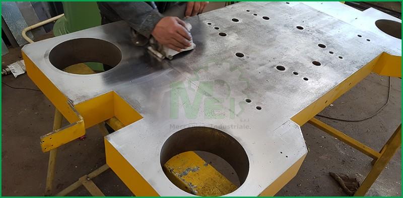 Equilibratura Girante Manutenzione Meccanica saldature certificazioni iso Lavorazione inox Carpenteria Metallica  Tornitura meccanica industriale caserta Equilibratura Dinamica Fresatura Piping Equilibratura statica Lavorazione di tornio e fresa